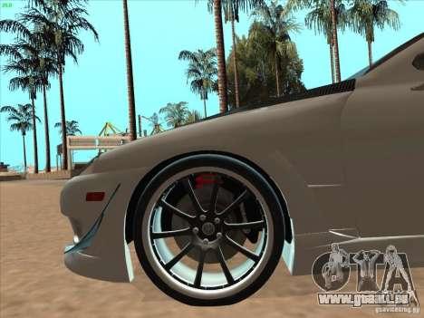 Toyota Soarer (JZZ30) für GTA San Andreas obere Ansicht