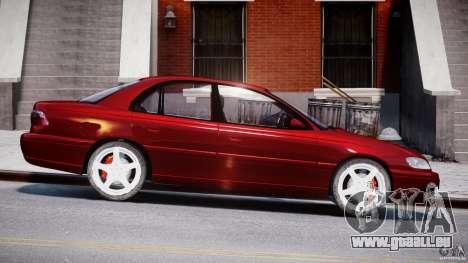 Opel Omega 1996 V2.0 First Public pour GTA 4 est une vue de l'intérieur