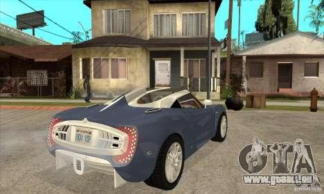 Spyker C12 Zagato für GTA San Andreas rechten Ansicht