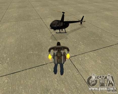 Transport aérien Pak pour GTA San Andreas roue