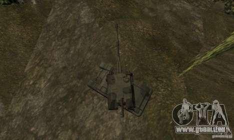 Msta-s 2, standard-version für GTA San Andreas Rückansicht