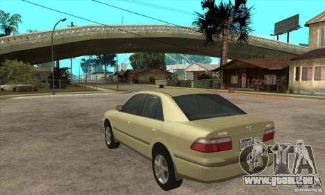 MAZDA 626 GF Sedan pour GTA San Andreas sur la vue arrière gauche