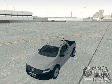 Volkswagen Saveiro 1.6 2009 pour GTA San Andreas vue de droite
