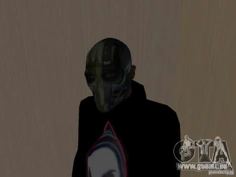 Army of Two Mask Camo für GTA San Andreas zweiten Screenshot