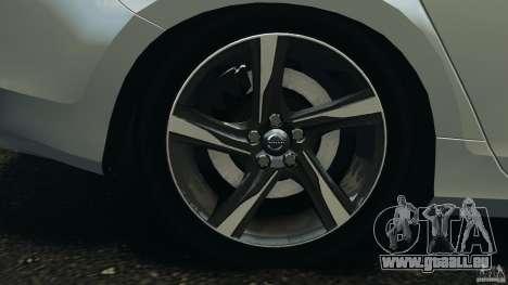 Volvo S60 R-Designs v2.0 für GTA 4 obere Ansicht