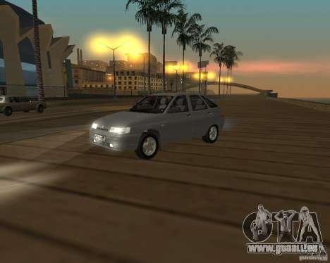 VAZ-2112 pour GTA San Andreas laissé vue