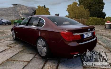 BMW 760Li 2011 pour GTA 4 Vue arrière de la gauche
