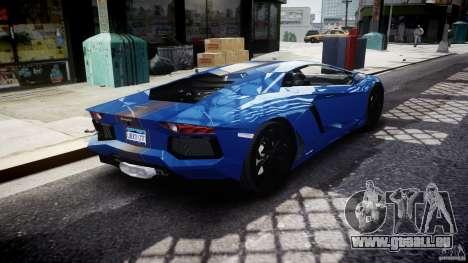 Lamborghini Aventador LP700-4 2011 [EPM] pour GTA 4 vue de dessus