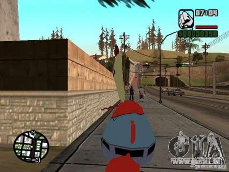 Mr. Krabs für GTA San Andreas fünften Screenshot