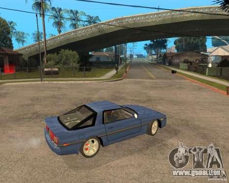 Toyota Supra MK3 pour GTA San Andreas vue de côté