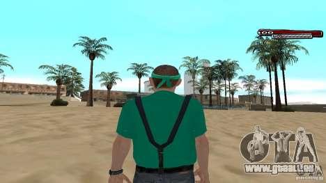 Skin Pack The Rifa Gang HD pour GTA San Andreas quatrième écran