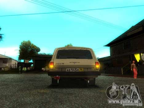 GAZ Volga 310221 Wagon pour GTA San Andreas vue intérieure