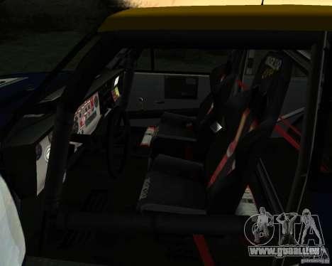 Fiat 131 Rally für GTA San Andreas Seitenansicht
