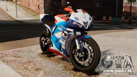 Honda CBR 600RR pour GTA 4