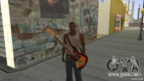 Chansons de films à la guitare pour GTA San Andreas huitième écran