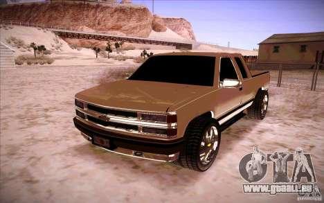 Chevrolet Silverado 3500 für GTA San Andreas
