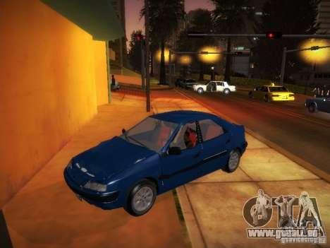 Citroën Xantia pour GTA San Andreas sur la vue arrière gauche