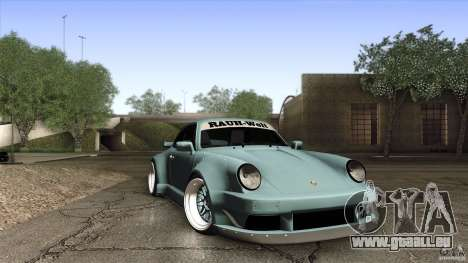 Porsche 911 Turbo RWB DS pour GTA San Andreas vue intérieure