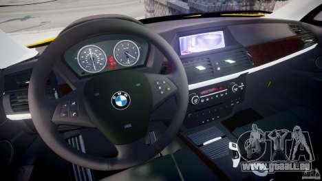 BMW X5 E70 v1.0 pour GTA 4 Vue arrière
