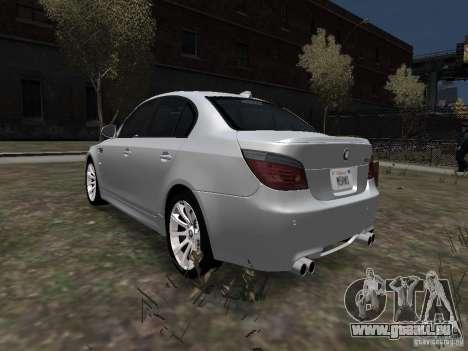 BMW M5 pour GTA 4 est une gauche