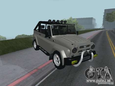 UAZ-3159 pour GTA San Andreas laissé vue