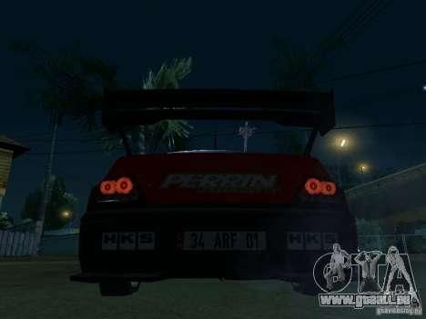 Mitsubishi Lancer Evo9 Wide Body 2 für GTA San Andreas zurück linke Ansicht