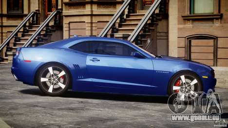 Chevrolet Camaro v1.0 für GTA 4 Innenansicht