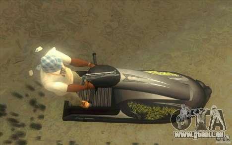 Thruster 87 pour GTA San Andreas vue de droite