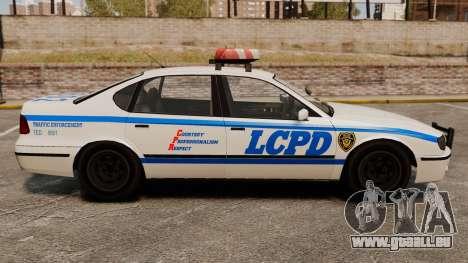 Nouvelle patrouille de Police pour GTA 4 est une gauche