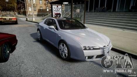 Alfa Romeo Brera Italia Independent 2009 pour GTA 4 Vue arrière