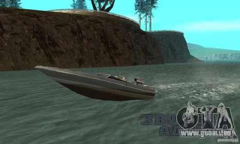 Tschilpjes Jetmax pour GTA San Andreas vue arrière