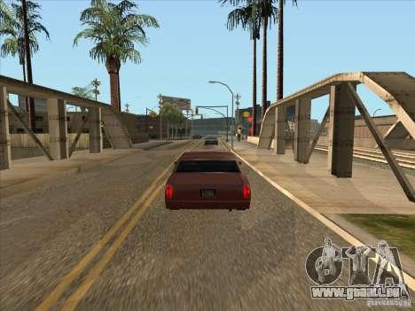 Voiture freinage graduée pour GTA San Andreas deuxième écran