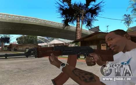 Das RPK-74 für GTA San Andreas zweiten Screenshot