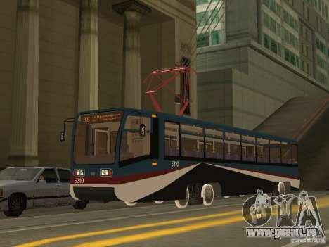 Die neue Straßenbahn für GTA San Andreas her Screenshot