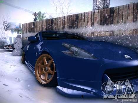 Nissan 370z pour GTA San Andreas vue de droite