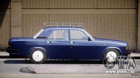 GAZ 3110 Wolga für GTA 4 linke Ansicht