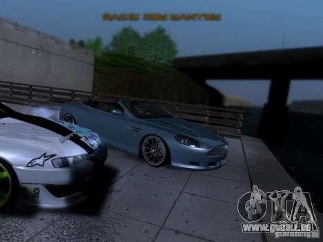 Aston Martin DB9 Volante 2006 pour GTA San Andreas