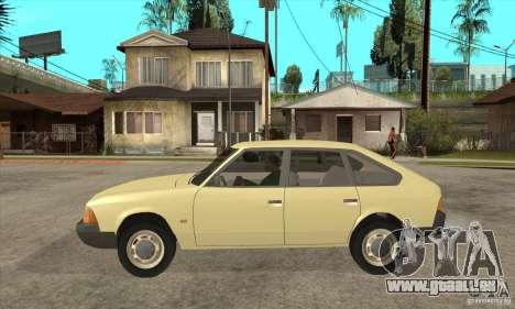 AZLK 2141 für GTA San Andreas linke Ansicht