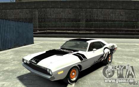 Dodge Challenger R/T Hemi 1970 pour GTA 4