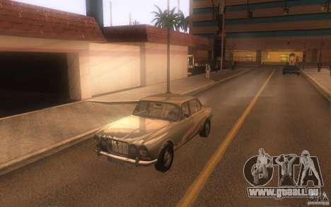 Jaguar XJ6 1972 pour GTA San Andreas laissé vue