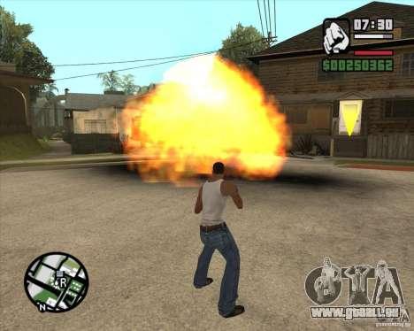 Blast für GTA San Andreas