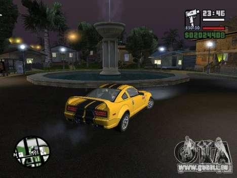 Nev Groove Street 1.0 pour GTA San Andreas deuxième écran