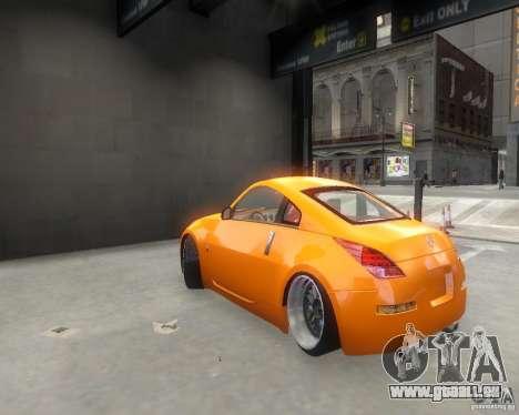 Nissan 350Z für GTA 4 rechte Ansicht