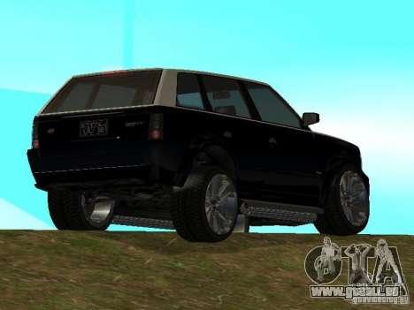 Huntley dans GTA IV pour GTA San Andreas laissé vue