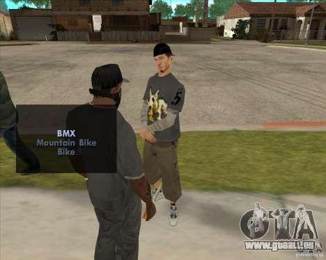 Kauf eine Flasche des Hains für GTA San Andreas zweiten Screenshot