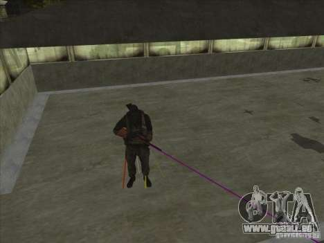 Weapon with laser für GTA San Andreas