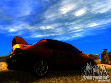 Mitsubishi Lancer Evolution IX MR pour GTA San Andreas vue de droite