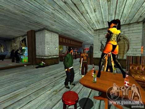 Mod Beber Cerveja V2 für GTA San Andreas achten Screenshot