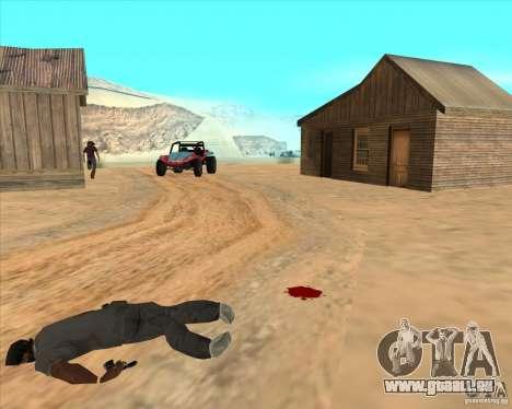 Cowboy duel v2.0 pour GTA San Andreas quatrième écran
