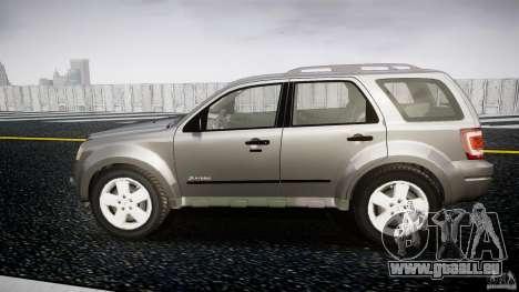 Ford Escape 2011 Hybrid Civilian Version v1.0 pour GTA 4 est une gauche